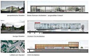 Gutachterverfahren zur Fassadengestaltung Berlin Halensee