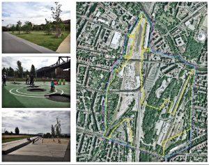 """""""Gleisdreieck Park"""" Berlin Friedrichshain-Kreuzberg"""